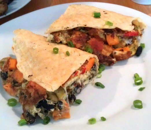 Iron Roost: Holy Fri Joles - a savory special for the day.
