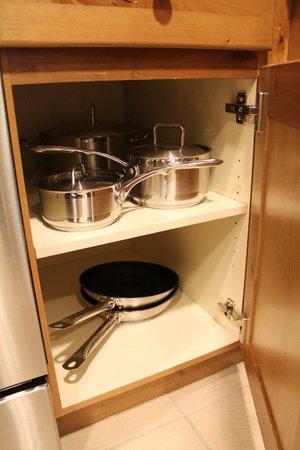 Marriott's Timber Lodge : Kitchen in one bedroom villa