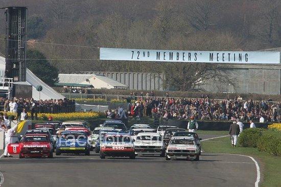Goodwood Motor Circuit: Real cars real racing!