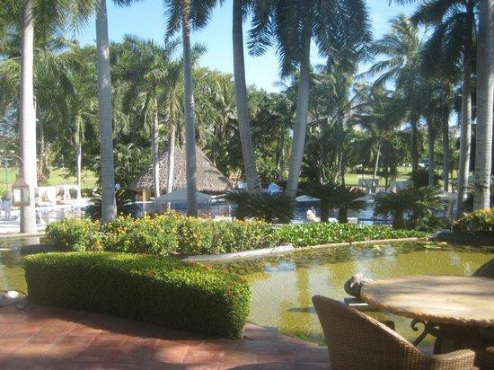 Casa Velas : Pool area from terrace