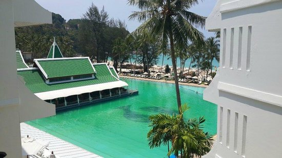 Le Meridien Phuket Beach Resort : The view from our room.