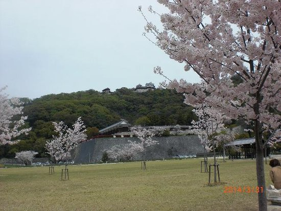 Matsuyama Castle Ninomaru Historical Garden: sannomaru