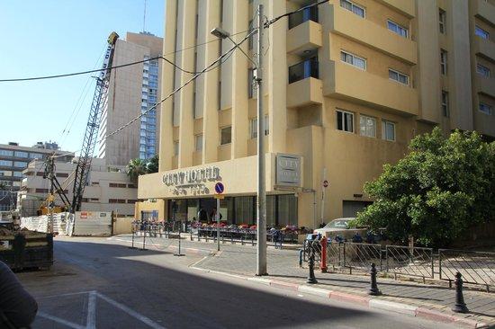 Hotel Prima City, Tel Aviv: Фасад