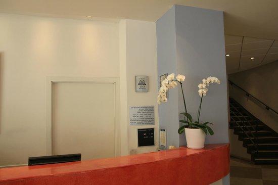 Hotel Prima City Tel Aviv: Ресепшн