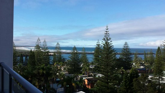 Macquarie Waters Hotel & Apartments: Sea view from apartment balcony