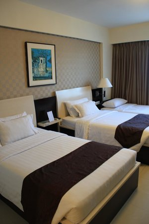 Aston Kuta Hotel & Residence : 雙人房(兩張床)