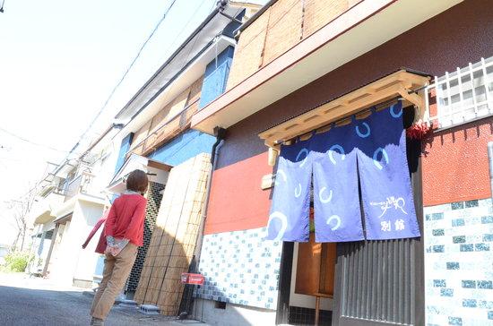 Guest House Tokiwa : 外観別館側