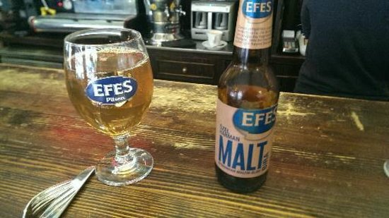 Red River Pub: Efes Malt