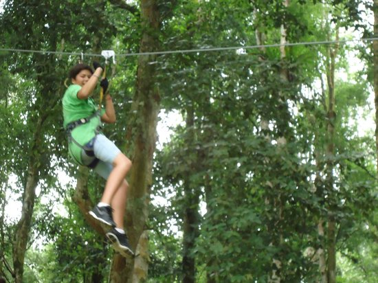 Bali Treetop Adventure Park: Great fun on each course