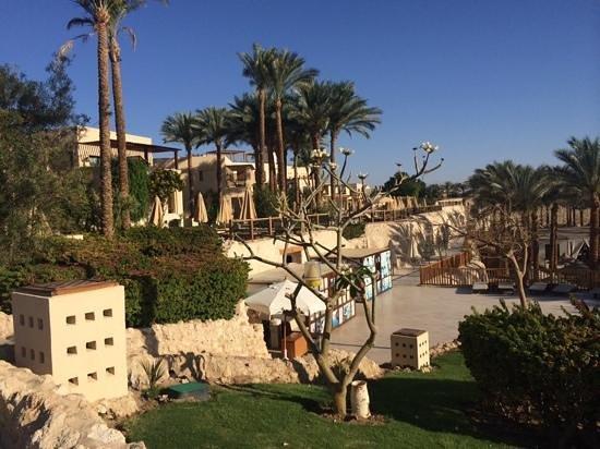 The Grand Hotel Sharm El Sheikh: down near the sea
