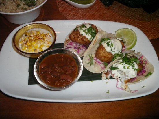 Rosa Mexicano - Union Square : Fish tacos