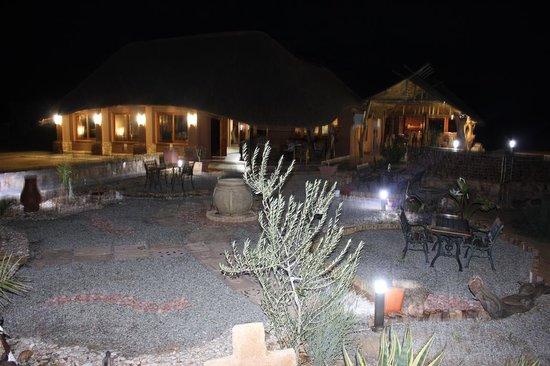Evening at Plato Lodge