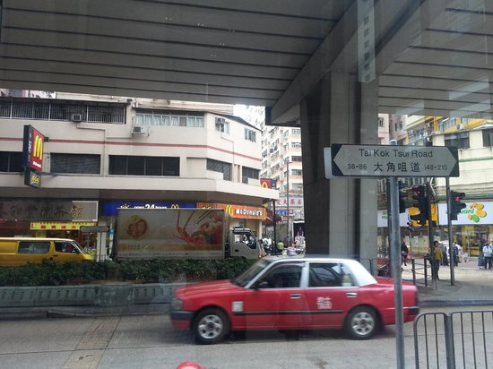 Dorsett Mongkok Hong Kong : MacDonalds opposite the hotel