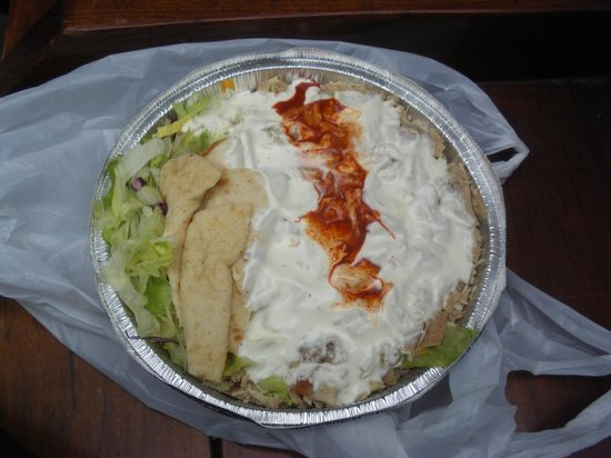 The Halal Guys: Chicken and Rice