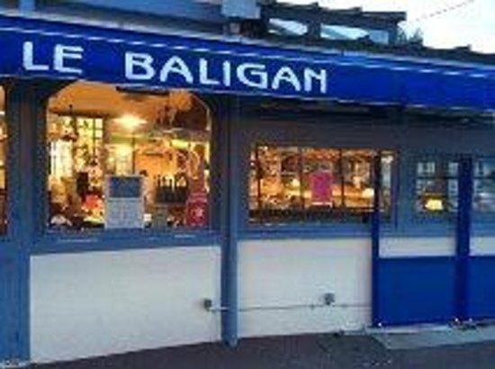 Le Baligan : Vue depuis l'entrée principale