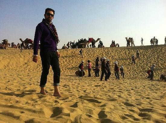Amush Desert Camp : sun set point