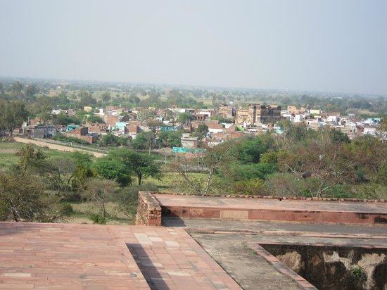 Fatehpur Sikri: 都からの町並み