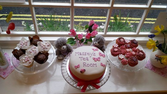 Massey's traditional tea room: Mothers Day 2014