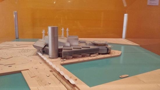 The Lowry: lowry museum model