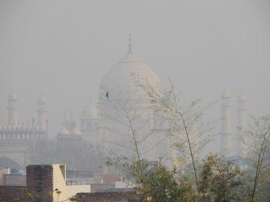 ITC Mughal, Agra: 展望台から眺めるタージマハル