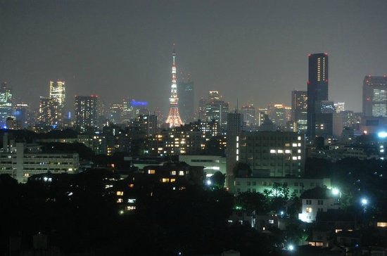 Grand Prince Hotel Takanawa : Tokyo Tower at night