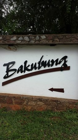 Bakubung Bush Lodge: Hotel name