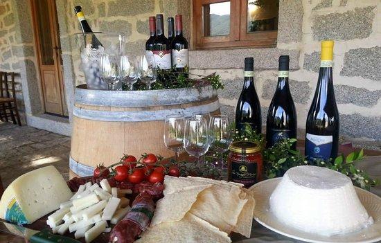 Luogosanto, Italie : Vini