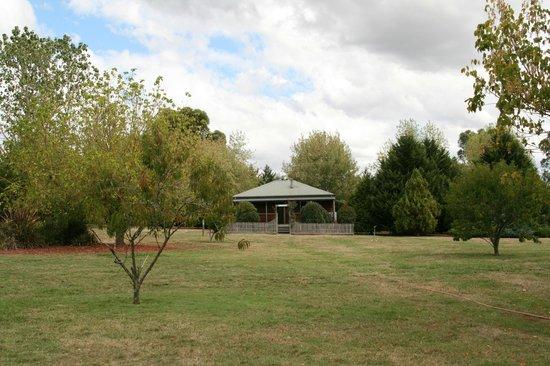 Sanctuary Park Cottages: cottage lake view