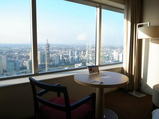 Yokohama Royal Park Hotel: 部屋からの眺め