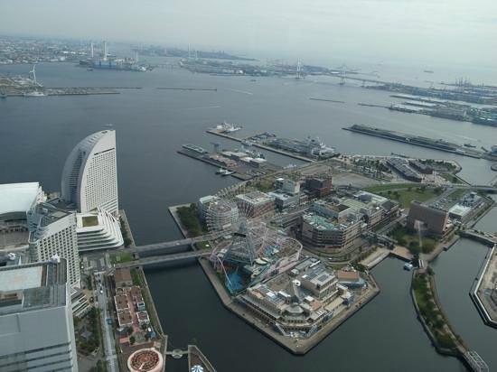 Yokohama Royal Park Hotel: みなとみらいを一望