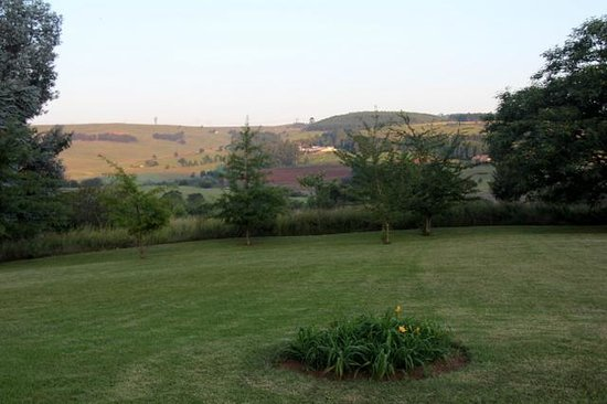 Lions River Country Cottages : View from Protea Cottage