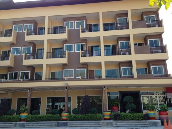 Thong Ta Resort: 今回は新館でした