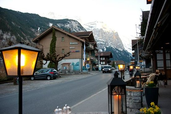Hotel Oberland: View from our balcony