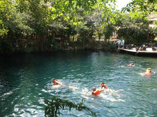 Sandos Playacar Beach Resort : cenote