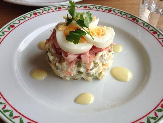 Paprika: Russian salad