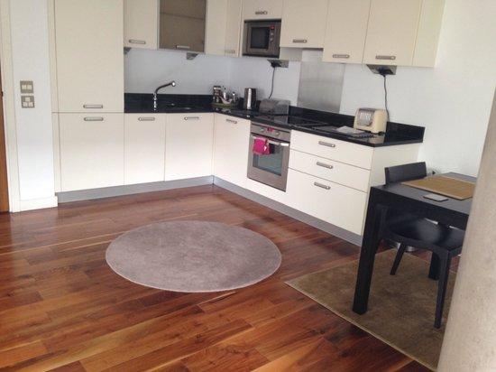 The Edge Manchester: the kitchen
