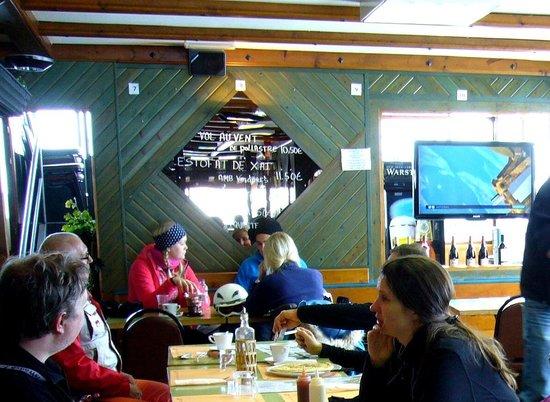 Sagres Restaurant: Зал ресторана