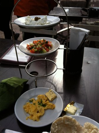 Neni am Naschmarkt: Israelisch ontbijt