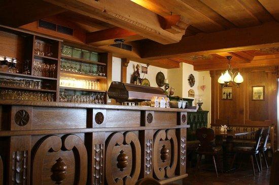 Thaler Hotel: Dettaglio bar