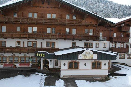 Thaler Hotel: Veduta esterna