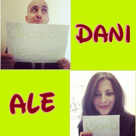 Vatican View: Daniel & Alessandra