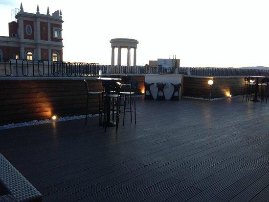 Hotel Vincci Via 66: terrazza