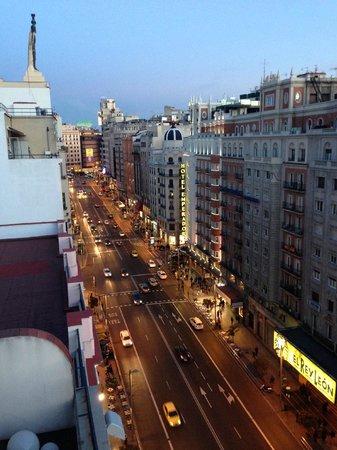 Hotel Vincci Via 66: view dalla terrazza