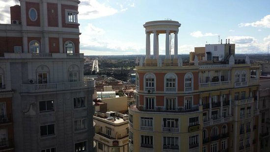 Hotel Vincci Via 66 : view da terrazza