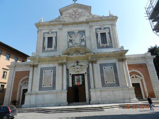 Piazza dei Cavalieri : Chiesa di S.Stefano dei Cavalieri