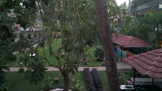 Prazeres Resorts: View from the corridor leading to our room