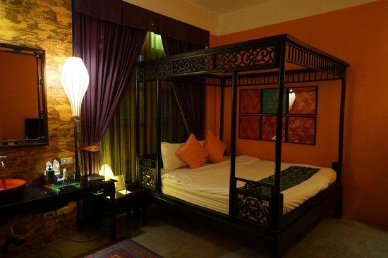 Shanghai Mansion Bangkok : ベッド