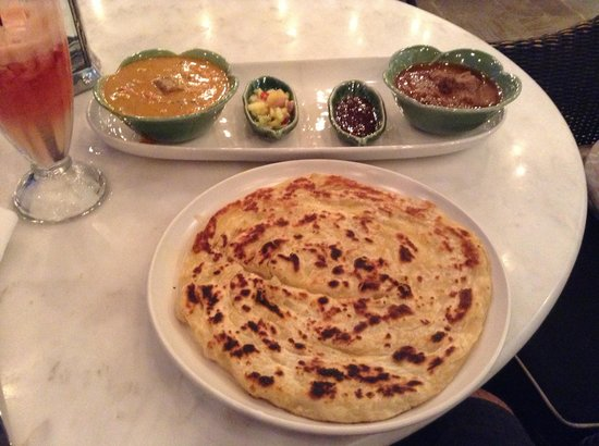 Lello Lello: Last dinner at Petitie India - Curries, salsa, condiment & roti