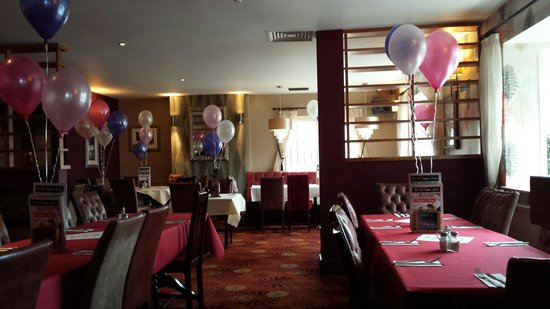 Restaurant decoration for Mothers day Picture of Rudds Arms