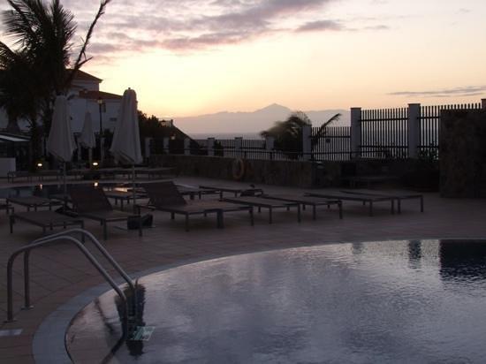El Teide desde el hotel Roca Negra